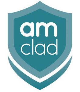 AM Clad Hygienic Shield - Logo