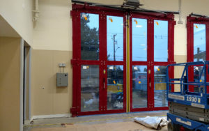 Fire Station - Wall Panel Work